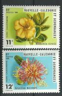 "Nle-Caledonie YT 436 & 437 "" Flore "" 1980 Neuf** - Nouvelle-Calédonie"