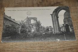 6930- ABBAYE D'AULNE, VUE D'UNE TRAVEE DU PORCHE INTERIEUR ET D'UNE ALLE DE L'HOSPICE - 1914 - Thuin