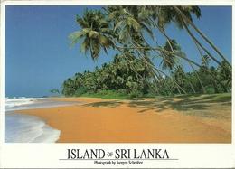 "Sri Lanka (Ceylon) West Coast, The Beach, La Plage, Thematic Stamp ""Atlanta '96, Tiro Con Carabina"" - Sri Lanka (Ceylon)"
