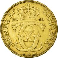 Monnaie, Danemark, Christian X, 2 Kroner, 1941, Copenhagen, TTB - Danemark