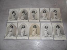 Enfant ( 2300 ) Serie Complet De 10 Cartes Postales - Kinderen