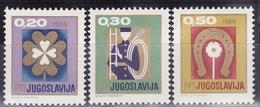 Yugoslavia 1968 New Year, MNH (**) Michel 1313-1315 - Neufs