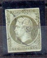 Sello De Francia N ºYvert 11 (o) Valor Catálogo 90.0€ - 1849-1850 Ceres