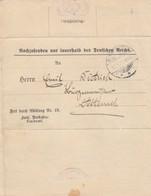 DOCUMENT. GERMANY. 11 1 1912. ZAHLUNGSAUFFORDERUNG, REQUEST FOR PAYMENT,  DAMMERKIRCH    3  /  2 - Briefmarken
