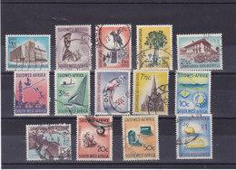 SWA SUD OUEST AFRICAIN 1961-1963 Série Courante Yvert  254-262 + 264-266 + 272 Oblitéré Cote : 33.60 Euros - South West Africa (1923-1990)