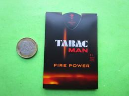 TABAC - PUFFER -  Carte Parfumée - Perfume Cards