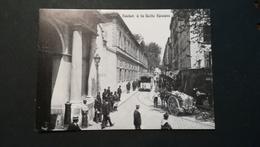 TOULON - TRAM  - RUE ANAOLE FRANCE  - CPSM - Gares - Avec Trains