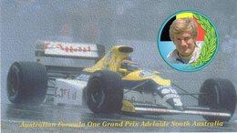 Australia  Adelaide - Grand Prix Formula 1 - Thierry Boutsen  Su Williams Vincitore Nel 1989 - - Grand Prix / F1