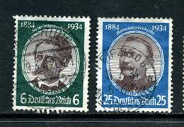 Allemagne 1934 Y&T 500 Et 502 ° - Allemagne
