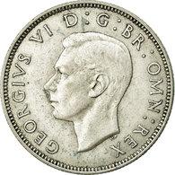 Monnaie, Grande-Bretagne, George VI, Florin, Two Shillings, 1941, TTB, Argent - 1902-1971 : Monnaies Post-Victoriennes