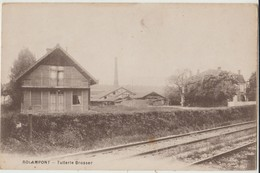 Cpa ( 52 Haute-marne ) Rolampont , Tuilerie Brosser - France