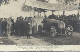 COUPE GORDON BENNETT - ELIMINATOIRES DE 1904 -  DEPART DE SALLERON SUR MORS - Motorsport