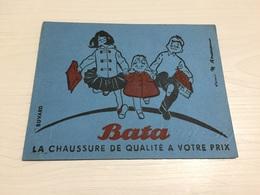 Buvard Ancien CHAUSSURES BATA LENS - Chaussures