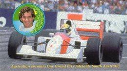 Australia  Adelaide - Grand Prix Formula 1 - Ayrton Senna Vincitore Nel 1991 E 1993 Su McLaren - - Grand Prix / F1