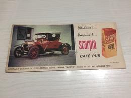 Buvard Ancien CAFÉ PUR SCARPIA - Coffee & Tea