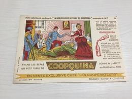 Buvard Ancien VIN COOPQUINA QUINQUINA KINA KINA COOPÉRATEURS  9 - Liqueur & Bière