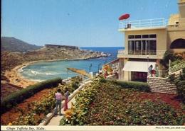 Malta - Ghajn Tuffieha Bay - Formato Grande Non Viaggiata – E 9 - Malta