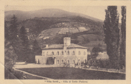 1938-Villa Di Teolo Padova, Villa Sordi, Cartolina Piegata, Viaggiata - Padova (Padua)