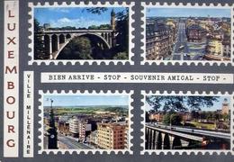 Luxembourg - Formato Grande Viaggiata – E 9 - Macedonia