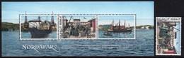 Greenland 2013 Nordafar Ships SS + 1v MNH - Bateaux