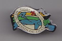 Pin's Rugby Club Meze Bassin De Thau Réf 8270 - Rugby