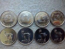 United Arab Emirates   25 Fils , 10 Pieces , 2011 ,    UNC - Emirats Arabes Unis