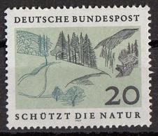 Germania 1969 Sc. 1001 Protezione Della Natura : Boschi E Colline  MNH Germany - Protezione Dell'Ambiente & Clima