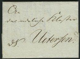 SCHLESWIG-HOLSTEIN 1814, D.S. Mit Interessantem Inhalt Nach Uetersen Der Provisorischen/Verwaltungs-Commission/des Herzo - Schleswig-Holstein