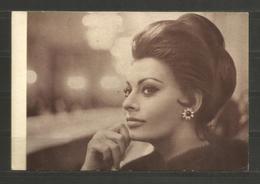 Bulgarian Cp Schauspielerin Sofia Loren - Matrimonio All`italiana  - D 3142 - Actors