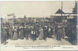 COUPE GORDON BENNETT - ELIMINATOIRES DE 1904 - Mazagran, Le Public Attendant L'arrivée - Sport Automobile