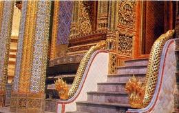 Thai Design Ornamentation Within The Emerald Buddha - Bangkok - Formato Piccolo Viaggiata – E 9 - Non Classificati