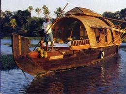 House Boat - India - Formato Grande Viaggiata – E 9 - India