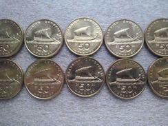Greece  50 Drachmes ,  2000 ,  UNC  , Lot , 10 Pieces - Grèce