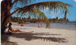 La Playa En Akumal - Quintana Roo - Mexico - Formato Piccolo Viaggiata – E 9 - Messico