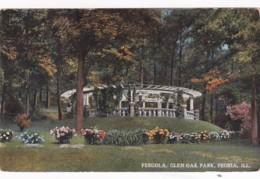 Illinois Peoria Pergola In Glen Oak Park - Peoria