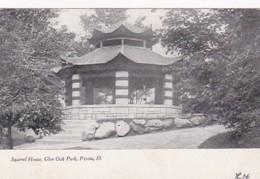Illinois Peoria Squirrel House In Glen Oak Park - Peoria