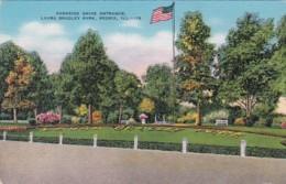 Illinois Peoria Laura Bradley Park Parkside Drive Entrance - Peoria