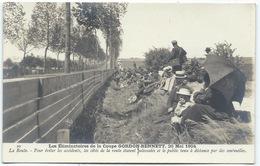 COUPE GORDON BENNETT - ELIMINATOIRES DE 1904 - Le Public Tenu à Distance Par Des Sentinelles. - Motorsport