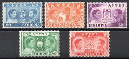 ETHIOPIE - YT N° 269 à 273 - Neufs * - MH - Cote 40,00 € - Äthiopien