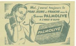 BU 1522 -/  BUVARD SAVON PALMOLIVE - Parfums & Beauté