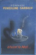 BU 1525 -/  BUVARD   POMMADE  PENICILLINE  SARBACH - Droguerías