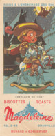 BU 1534 -/  BUVARD  BISCOTTES MAGDELEINE  GRANVILLE   CHEVALIER DU GUET - Biscottes