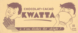 BU 1541 -/  BUVARD   CHOCOLAT  CACAO  KWATTA - Chocolat