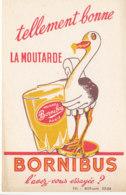BU 1556 -/  BUVARD  LA   MOUTARDE  BORNIBUS - Moutardes