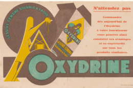 BU 1560 -/  BUVARD    LESSIVE   CENDRE  OXYDRINE - Produits Ménagers