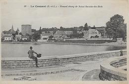 71)  LE CREUSOT   Nouvel Etang De SAINT SERNIN Du BOIS - Le Creusot