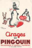 BU 1569 -/  BUVARD   CIRAGES DU PINGOUIN  WILLEMS  (NORD) - Produits Ménagers