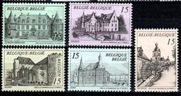 Belgique - Timbres De 1993 COB 2512 / 2516 XX Tourisme - Belgique