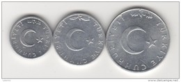 TURKEY-TURKISH 1975 ALEMINYUM 10,5,1 KURUS - Turquie