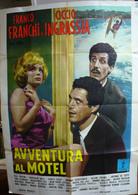 MANIFESTO AVVENTURA AL MOTEL FRANCO E CICCIO - Manifesti & Poster